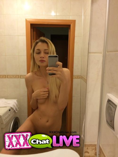 Cute nude asian girl shitting